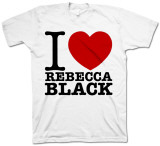 Rebecca Black - I Love Rebecca T-shirts
