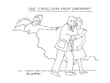 The Expulsion From Larchmont - New Yorker Cartoon Premium Giclee Print by Stuart Leeds