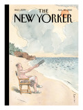 Pause - The New Yorker Cover, August 30, 2010 Premium Giclee Print by Barry Blitt