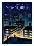 Twilight - The New Yorker Cover, October 25, 2010 Regular Giclee Print by Eric Drooker