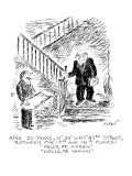 """AFTER 20 YEARS, AT 25 WEST 43RD STREET, BETWEEN THE 19TH AND 18TH FLOORS: …"""" - New Yorker Cartoon Premium Giclee Print by Edward Koren"""