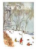 The New Yorker Cover - January 27, 1968 Regular Giclee Print by James Stevenson