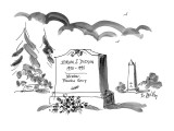 Hiram S. Dudson, 1930 - 1993 Member, Placebo Group - New Yorker Cartoon Premium Giclee Print by Donald Reilly