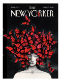 Homage - The New Yorker Cover, March 29, 2010 Regular Giclee Print by Ana Juan