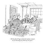 """All this talk of Viagra and penile implants reminds me  of a charming sto…"" - New Yorker Cartoon Premium Giclee Print by Jack Ziegler"