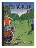 The New Yorker Cover - August 25, 1956 Premium Giclee Print by Peter Arno