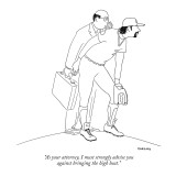 """As your attorney, I must strongly advise you  against bringing the high h…"" - New Yorker Cartoon Premium Giclee Print by Alex Gregory"