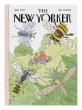 The New Yorker Cover - July 31, 2006 Regular Giclee Print by Gahan Wilson