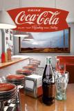 Coca-Cola - Diner Plakat