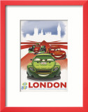 Cars 2: London Affiches