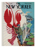 The New Yorker Cover - March 22, 1958 Premium Giclee Print by Arthur Getz