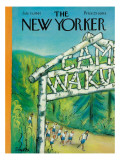 The New Yorker Cover - July 15, 1961 Regular Giclee Print by Beatrice Szanton