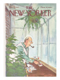 The New Yorker Cover - March 11, 1967 Premium Giclee Print by Charles Saxon