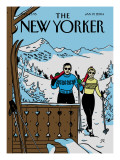 The New Yorker Cover - January 19, 2004 Premium Giclee Print by Jean Claude Floc'h