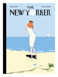 On the Horizon - The New Yorker Cover, August 29, 2011 Regular Giclee Print by Istvan Banyai