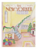 The New Yorker Cover - December 22, 1986 Regular Giclee Print by Iris VanRynbach