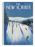 The New Yorker Cover - January 20, 1973 Premium Giclee Print by Arthur Getz