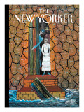 The Resurrection of the Dead - The New Yorker Cover, January 25, 2010 Premium Giclee Print by Frantz Zephirin