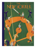 The New Yorker Cover - October 5, 1929 Regular Giclee Print by Theodore G. Haupt