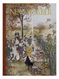 The New Yorker Cover - October 20, 1962 Premium Giclee Print by Mary Petty