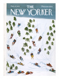 The New Yorker Cover - February 27, 1971 Regular Giclee Print by Donald Reilly