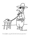 """""""It's not difficult—you go 'Hi,' then 'Ho,' then  the name of your horse."""" - New Yorker Cartoon Premium Giclee Print by Charles Barsotti"""