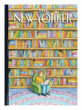 Shelved - The New Yorker Cover, October 18, 2010 Regular Giclee Print by Roz Chast