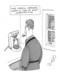 For Mervyn, Mornings Were A Time Of Quiet Introspection' - New Yorker Cartoon Premium Giclee Print by J.C. Duffy
