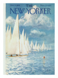The New Yorker Cover - June 13, 1959 Premium Giclee Print by Arthur Getz