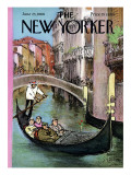 The New Yorker Cover - June 25, 1966 Regular Giclee Print by Charles Saxon