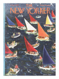 The New Yorker Cover - August 9, 1952 Premium Giclee Print by Garrett Price