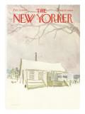 The New Yorker Cover - February 15, 1969 Regular Giclee Print by James Stevenson