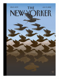 After Escher: Gulf Sky and Water - The New Yorker Cover, July 5, 2010 Regular Giclee Print by Bob Staake