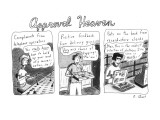 Approval Heaven: Compliments from telephone operators.  Positive feedback … - New Yorker Cartoon Premium Giclee Print by Roz Chast