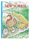 The New Yorker Cover - June 15, 1987 Regular Giclee Print by Edward Koren