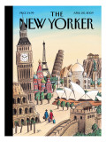 The New Yorker Cover - April 20, 2009 Premium Giclee Print by Jacques de Loustal
