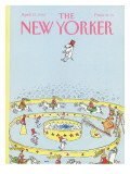 The New Yorker Cover - April 27, 1992 Regular Giclee Print by George Booth