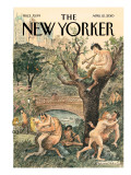 Spring Has Sprung - The New Yorker Cover, April 12, 2010 Regular Giclee Print by Edward Sorel