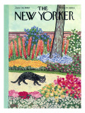 The New Yorker Cover - June 18, 1960 Regular Giclee Print by William Steig