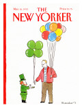 The New Yorker Cover - March 16, 1992 Regular Giclee Print by Danny Shanahan