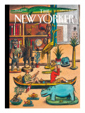 Voyage Autour de Notre Chambre - The New Yorker Cover, April 19, 2010 Regular Giclee Print by Jacques de Loustal