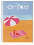 The New Yorker Cover - August 20, 1984 Premium Giclee Print by Heidi Goennel