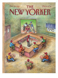 The New Yorker Cover - October 19, 1987 Premium Giclee Print by John O'brien