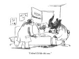 "Rhinoplasty-""I think I'd like this one."" - New Yorker Cartoon Premium Giclee Print by Sidney Harris"