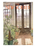 The New Yorker Cover - January 21, 1967 Premium Giclee Print by Frank Modell