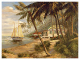 Key West Hideaway Art Print by Enrique Bolo