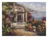 Monterosso Villa Print by  Alphonse