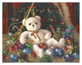 Christmas Bear Posters by Janet Kruskamp
