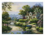 Sung Kim - Swan Cottage II Plakát