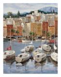 Terracotta Harbor Poster by  Furtesen
